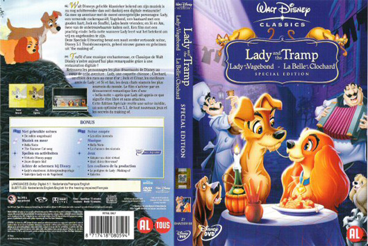 DVD Lady en de Vagebond