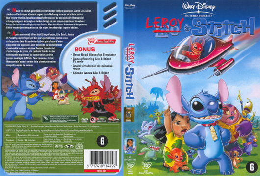 DVD Leroy & Stitch