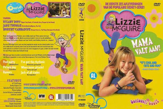 DVD Lizzie McGuire Mama valt aan!