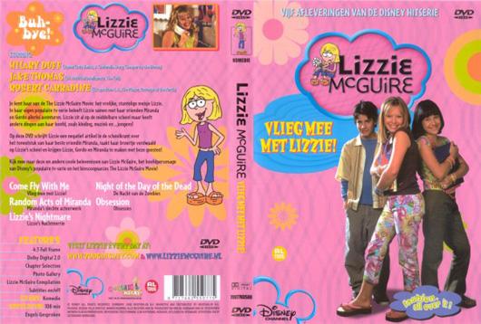 DVD Lizzie McGuire Vlieg mee met Lizzie