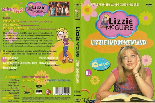 DVD Lizzie McGuire Lizzie in Dromenland