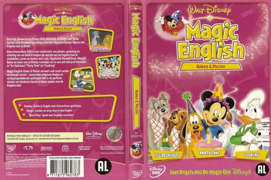 DVD Magic English Koken & Plezier
