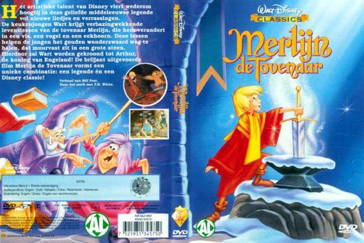 DVD Merlijn en de Tovenaar