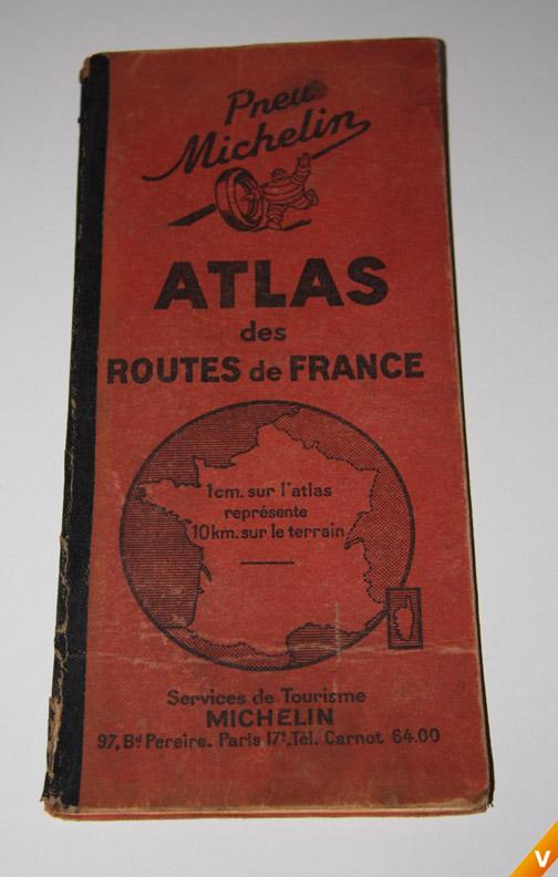 Franse atlas uit 1949