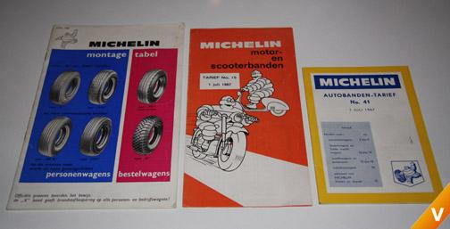 Nederlandse brochures jaren `60