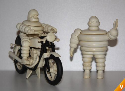 Michelin puzzles uit 1960