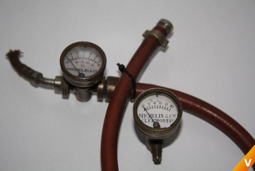 Manometers fietspomp 1910