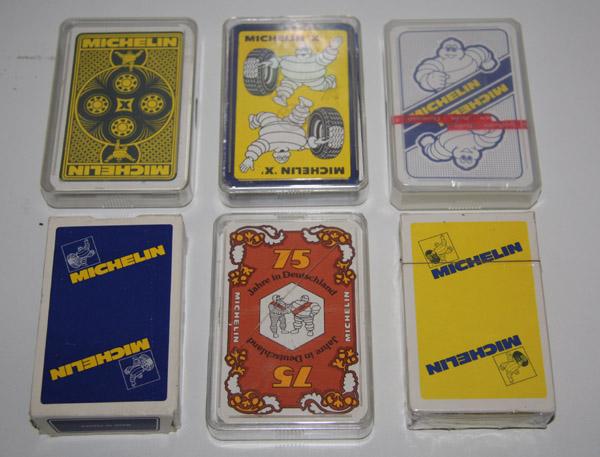 Michelin speelkaarten