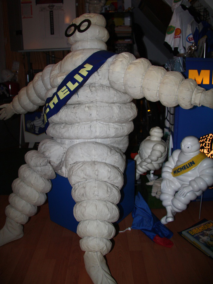 Michelin opblaaspop gonflable inflatable