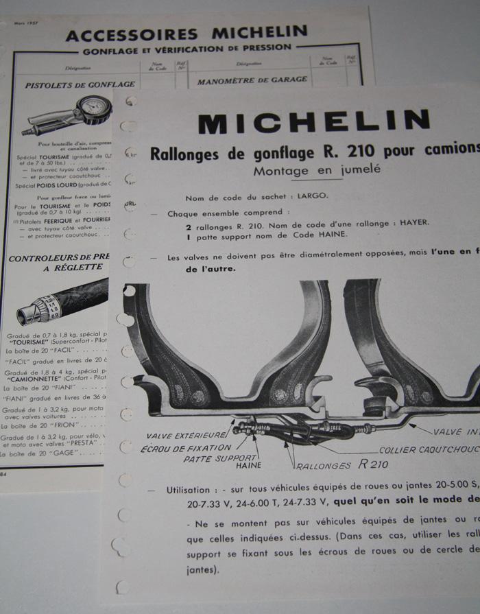 Drukwerk Michelin