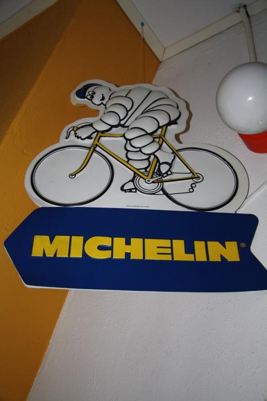reclame bord fiets