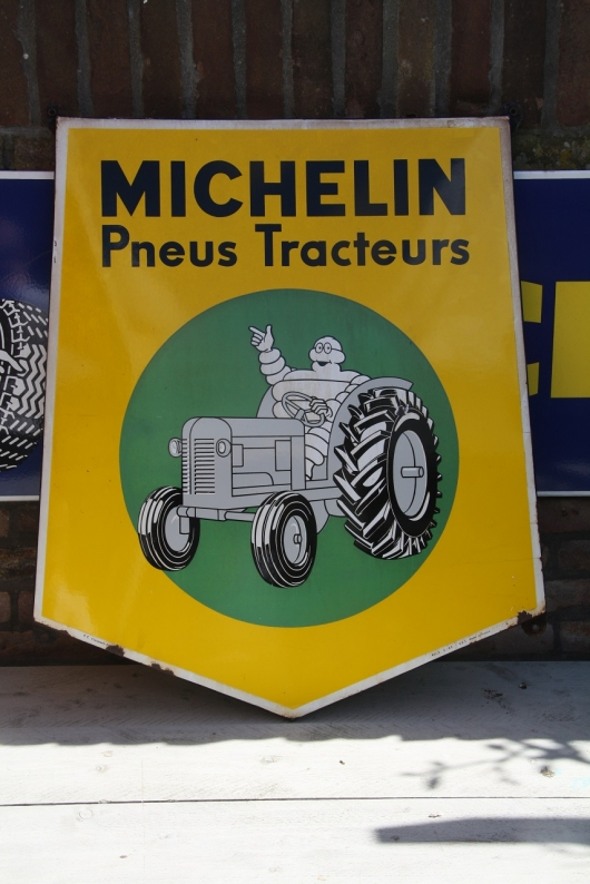 Michelin tracteurs emaille