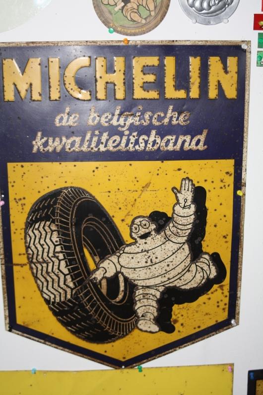 Michelin bord blik groot