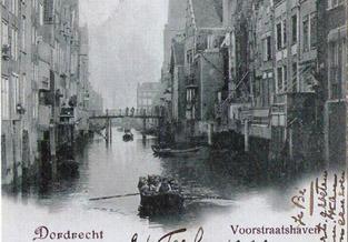 Verzameling ansichtkaarten van Dordrecht