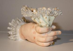 Verzameling antieke handjes