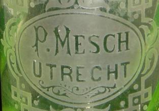 Verzameling flessen uit Utrecht