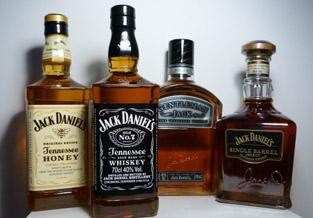 Verzameling Jack Daniels