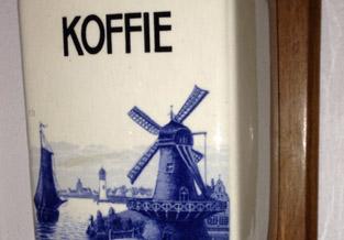 Verzameling koffiemolens