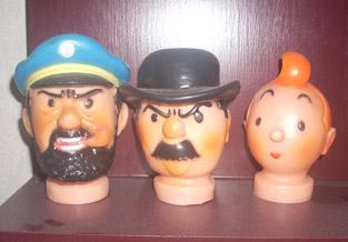 Poppenkastpoppen van Henk