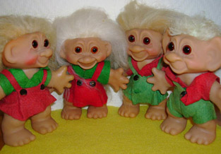 Verzameling trollen