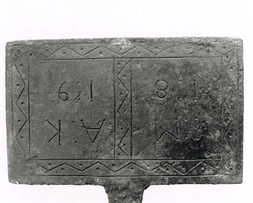 Initialen uit 1819